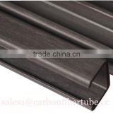 World-widely use new composite carbon fiber frp pultrusion profiles, C-channels, U-channels, I beams