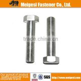 China manufacture high quality good price standard or non-standard carbon steel high strength zinc plated m30 hex bolt