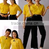 restaurant waiter uniform/bar staff uniforms/008