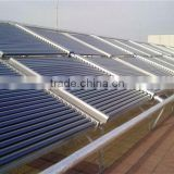 Solar Heating System for High Buildings Home with Manifold Collectors