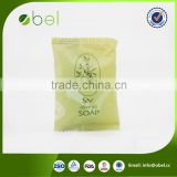 Green castile cheap bar soap with flow pack 40g