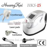 Pigmented Lesions Treatment Home Use Ultrasound Therapy For Weight Loss Cavitation+RF Slimming Machine Bipolar Rf Ultrasonic Liposuction Cavitation Nd Yag Laser Machine