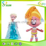 high quality lifelike plush baby toys cartoon charcters dolls