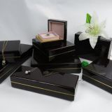 Unique Design High Glossy Lacquer Wooden Packer Jewelry Box Jeweller Set Boxes Jewellery Gift Box Pendant Box