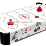 Wooden Mini Table Top Air Hockey Game Set