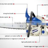 "49.3cc (52cc) 20"" 2000W Petrol Gas Powered Wood Cutting Saw Machine Gasoline Trimmer"