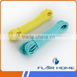 colorful drying washing clothes rope/line