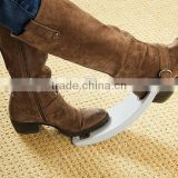 Comfort easy remove plastic hands free shoe and boot jack with no pain