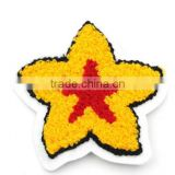 high quality star embroidery patchand basketball embroidery patch for garment