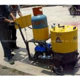 60L hot melt kettle Asphalt road crack sealing machine