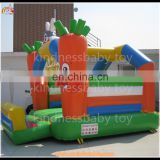 Inflatable bouncer castle, inflatable carot jumper castle for sale