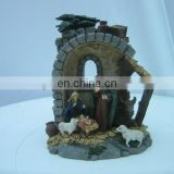 the baby jesus with parents figurine for home decoration