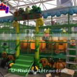 Plants Vs Zombie Carousel (3P) Carousel Horses Carousel Ride Electronic Games Machine For Kids