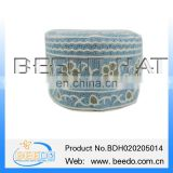 High quality embroidered islamic kufi hat