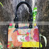 Fashion classical korean design large kantha beach bags
