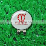 Dongguan made metal magnetic golf gloves ball marker with logo