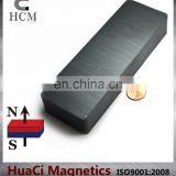 "Ferrite Magnets Block 6""X2""X1"" Hard Ceramic Magnet Block"