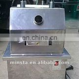 automatic stainless steel sugarcane machine/electric sugarcane juice press