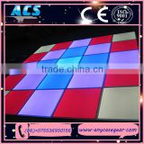 ACS promotion price led dance floor, rgb color led dance floor, rgb led lighted dance floor for sale