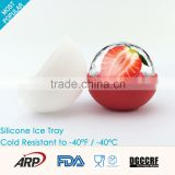 Silicone Ice Cream Tools & Ball shaped Silicone Ice Cube Tray Eco-friendly BPA Free FDA LFGB DGCCRF