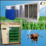 Automatic hydroponic sprouted grains system for livestock,animal,cattle,sheep,goats