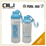 400ml sports sipper water bottle