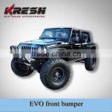 2015 hot selling Jeep wrangler JK EVO front bumper for jeep, and AEV, mopar, posion spyder bumpers