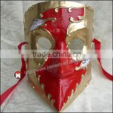 2014 new arrival conventional Handmade Available Full-face Adult Size Traditional Bauta Masks