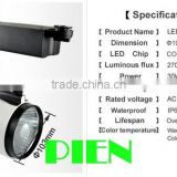 20w cob led track light for clothting store