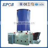 Vertical coal fired thermal oil boiler with Riello burner