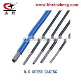 QINGHE/CABLE OUTER CASING/CABLE COVER/5MM OUTER/PVC TUBE/PVC OUTER/BRAKE CABLE OUTER