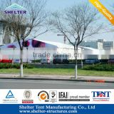 Ningbo ivory-white Waterproof, Flame redartant, UV-resistant tent fabric with long life span bell tent for party