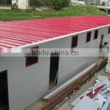 Flat roof ready assemble homes
