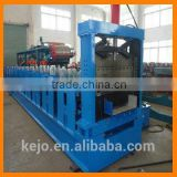 Copper Metal Roof Cap Flashing Roll Forming Machine Roof Tile Ridge Cap Flashing Making Machine