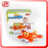 Plastic battery operated fish toy starfish with light and music
