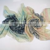 2016 Spring scarf OEM beaty flower 100% polyester Spring scarf                                                                         Quality Choice