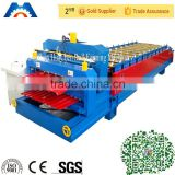 Fast Speed IBR & Step Tile Roof Sheet Double Layer Roll Forming Machine Made in China