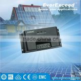 EverExceed 12V/24V/48V 20A/30A Intelligent with ISO Certificates PWM dc motor Solar Charge Controller, Solar controller