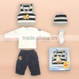 2015 baby gift set sweater baby clothes winnie the pooh newborn baby clothing sweater