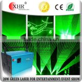 Professional Laser Lighting,20w Green 532nm Laser Stage Event Laser Show System For Sale