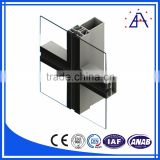 Led Wave Facade Fabric Metal Building Curtain Wall