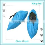 PE disposable plastic shoe cover/ disposable water proof shoe cover/ pe biodegradable overshoes