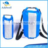 5L 10L 30L 500D PVC tarpaulin waterproof dry bag with shoulder strap