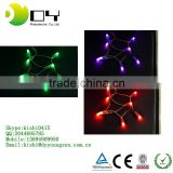 New Good Quality!Christmas LED String Light 9 colors 9mm 100LED Xmas Led Christmas/Wedding/Party Decoration Lights 110V 220V
