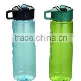 Hot sale Leakage Proof Promotional Customized BPA Free Plastic Sports Water Bottle with suction nozzle/Plastic water bottle