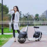 Four China Big Wheel Electric Motorcycle Scooter
