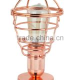 MT6232-CP COPPER 2016 new desing simple led table light desk lamp bed lighting hot sales hight quality