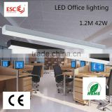 Modern Office LED Pendant Lighting 42w 1200mm led linear light                                                                         Quality Choice