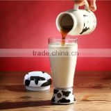 New Fashionabale 14oz Mixing Cup Skinny Moo Mixer Battery-operated Chocolate Milk Mixer Novelty Household