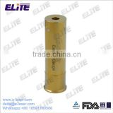 FDA Approved High Quality Gold Plated Brass 20 Gauge Caliber Cartridge Red Laser Bore Sight
